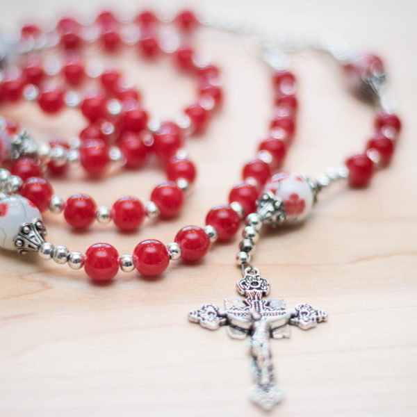 Poppy Love | Catholic Rosary